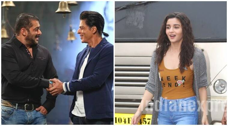 Shah rukh khan on Bigg Boss 10, Shah Rukh Khan Salman Khan, Salman Khan Bigg Boss, Shah Rukh Khan Alia Bhatt bigg boss 10, alia bhatt bigg boss 10, dear Zindagi promotions, Alia Bhatt dear zindagi promotions, shah rukh khan alia promotes dear zindagi, bigg boss 10, bigg boss 10 news, bigg boss 10 updates, bollywood updates, bollywood news, television news, television updates, entertainment news, indian express news, indian express