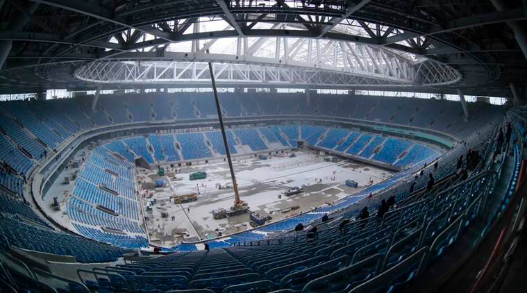 World Cup 2018, World Cup 2018 stadiums, St Petersburg stadium, st petersburg football, world cup 2018 venues, russia world cup, football stadiums russia, football, football news, sports, sports news