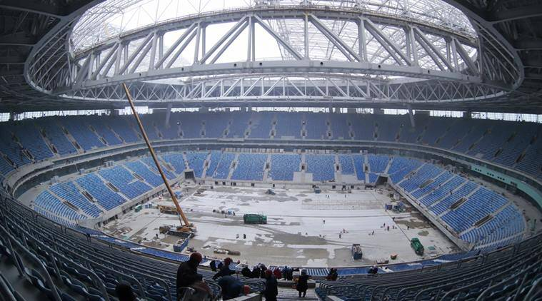 st petersburg, russia world cup, russia 2018, russia 2016 world cup, st petersburg stadium, russia football, russia football corruption, russia world cup corruption, football news, sports news
