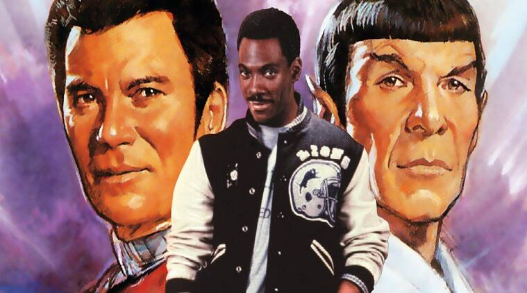 The screenwriter of Star Trek IV: The Voyage Home, says they had originally written a small part for actor Eddie Murphy in the film but when his casting deal fell through