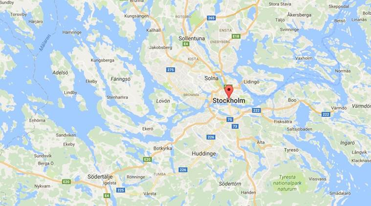 mosque attacked, mosque swastika, sweden mosque attacked, stockholm mosque attacked, muslim place attacked, swastika drawn in mosque, world news