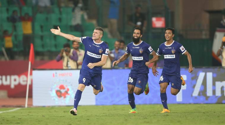indian super league, isl 2016, indian super league results, isl score, chennayin fc atletico de kolkata, chennaiyin fc atk, chennai, helder postiga, davide succi, succi, football news, sports news
