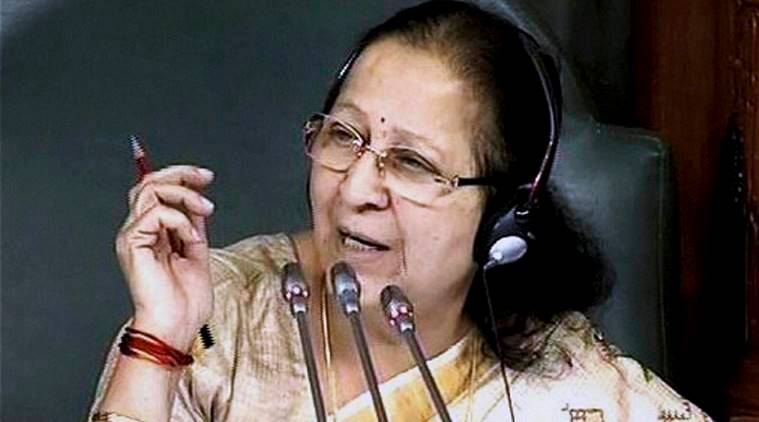 Sumitra Mahajan, lok sabha, India parliament, demonetisation, Rs 500, Rs 1000, news, latest news, India news, national news