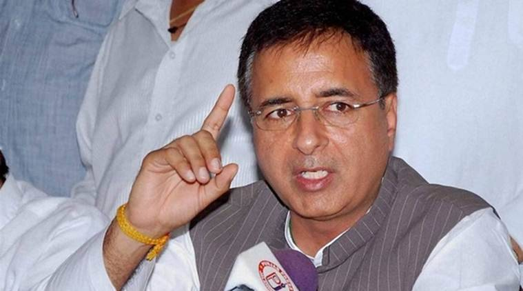 randeep surjewala, congress national spokesperson, indian express
