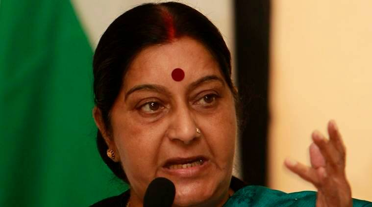 Sushma swaraj, Sushma swaraj lok sabha, attack on indians, Sushma swaraj attack on indians, Srinivas Kuchibhotla, Kuchibhotla, Kansas shooting, sushma swaraj kansas shooting, kansas, indian engineer killing, US, donald trump, sushma swaraj donald trump, india news, indian epxress news