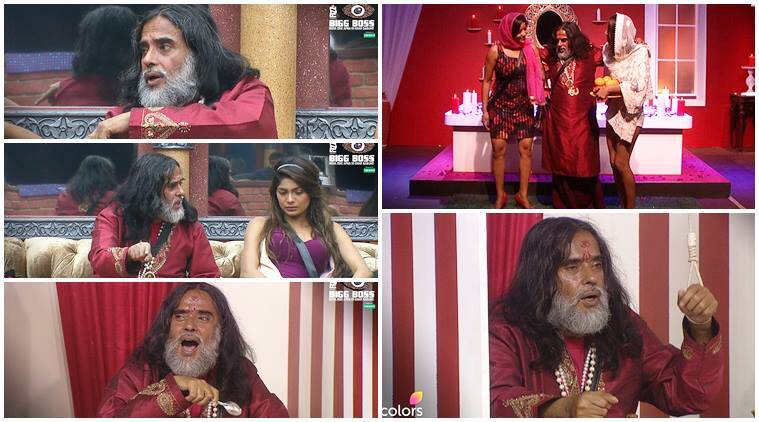 Swami Om bigg boss 10, swami om bigg boss finalist, rakhi sawant swami om finalist bigg boss 10, swami om salman khan bigg boss 10, raj nayak on swami om bigg boss 10, swami om fights bigg boss 10, swami om entertainer bigg boss 10, swami om potential finalist bigg boss 10, bigg boss 10 news, bigg boss 10 updates, television news, television updates, entertainment news, indian express news, indian express