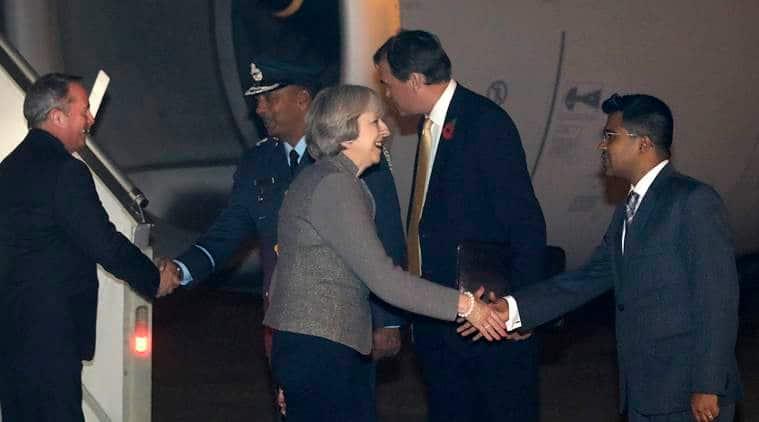 Theresa May, Theresa May tata meet, Theresa May says no to tata, UK PM India trip, britain Prime minsiter, UK prime minister, latest news, laltest world news,latest business news