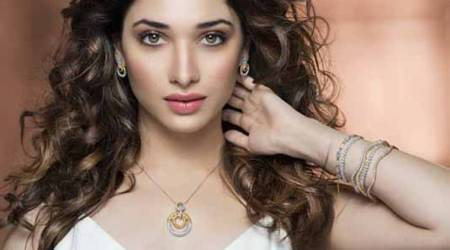 Tamannaah Bhatia steals hearts in a gorgeous silver lehenga on this magazinecover