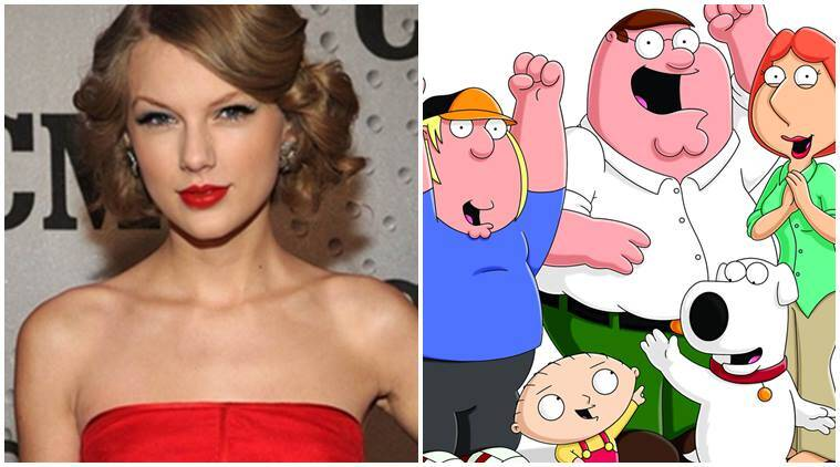 taylor swift, family guy