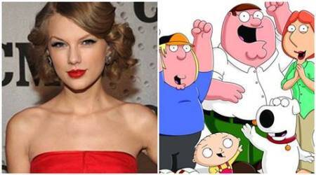 Taylor Swift's break-up songs subject of Family Guy episode