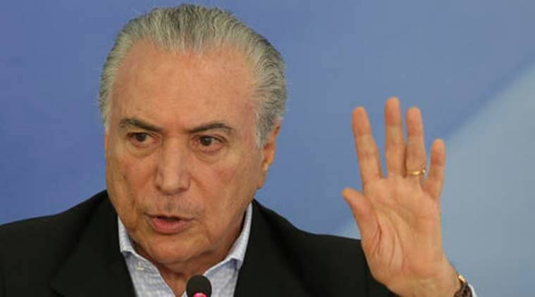 Michel Temer, Michel Temer corruption charges, Brazil President, Dilma Rousseff, Operation Car Wash, indian express news