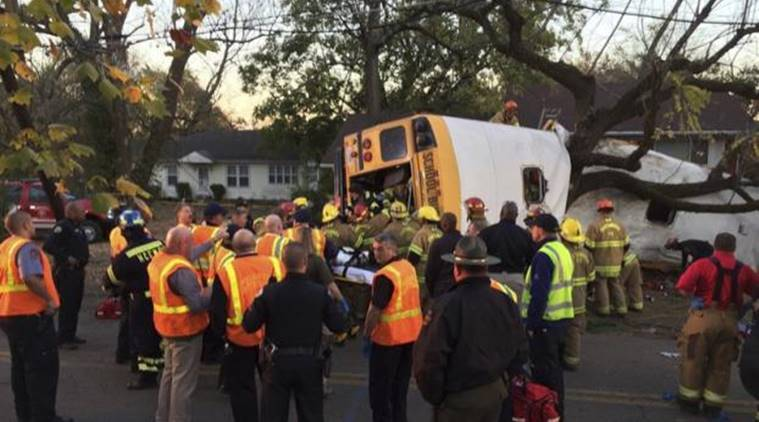 Tennessee school bus crash, US school bus crash, school bus crash, Tennessee elementary school, Tennessee bus crash, Tennessee news, US news, world news, latest news, indian express