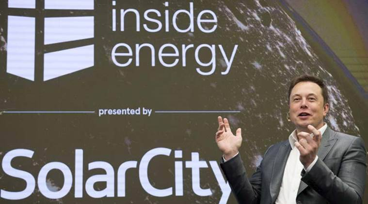 Tesla, SolarCity, Tesla-SolarCity merger deal, Elon Musk, Tesla shares, SolarCity shares, business news, companies news, latest news, indian express