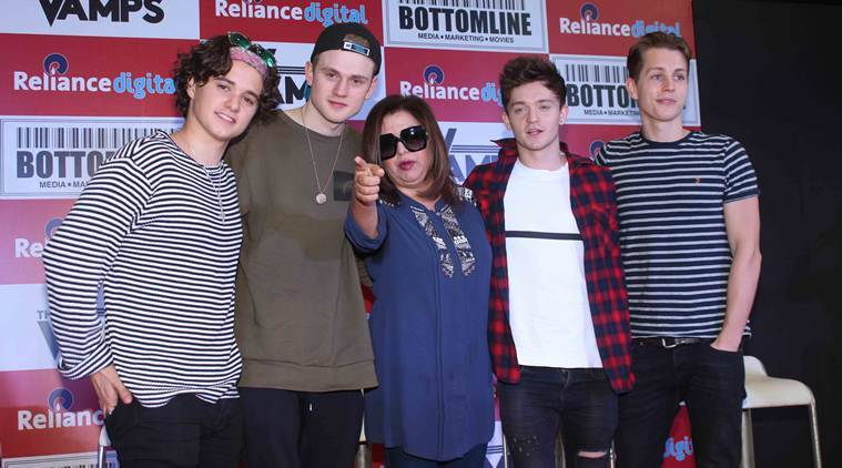 The Vamps, Farah Khan, The Vamps the band, The Vamps india, Farah Khan music video