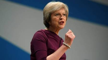 Theresa May, uK, UK Prime Minister, UK PM Theresa May, Brexit, Brexit summit, British PM theresa may, TATA, TATA india, Jaguar Land Rover, Britain, world news
