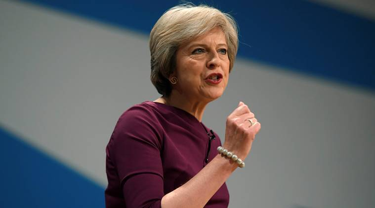 United Kingdom, UK PM, Theresa May, May on Brexit, May on UK's economy, UK economy boost, May on innovative startups, London, world news, indian express news