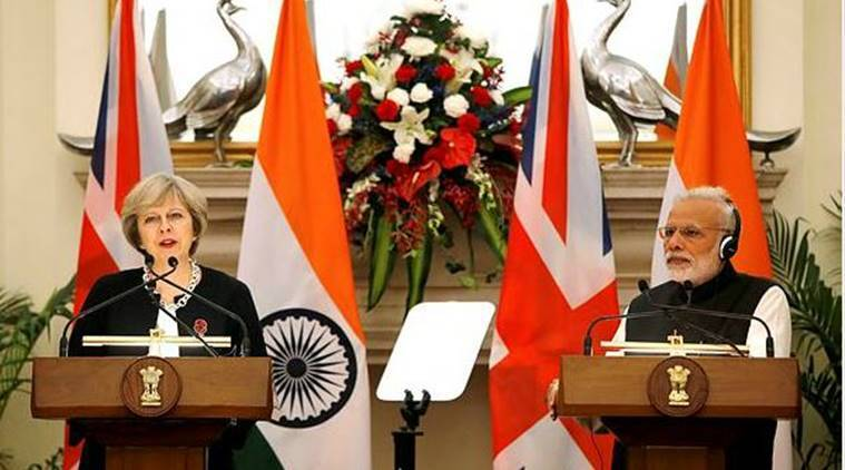 India, Britain, Theresa May, Narendrta Modi, UK visa norms, UK visa norms news, Latest news, India news, National news