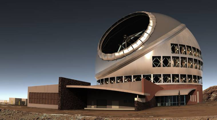 thirty metre telescope, worlds largest telescope, largest telescope hawaii, canary islands spain, canary islands world largest telescope, tech news, indian express,