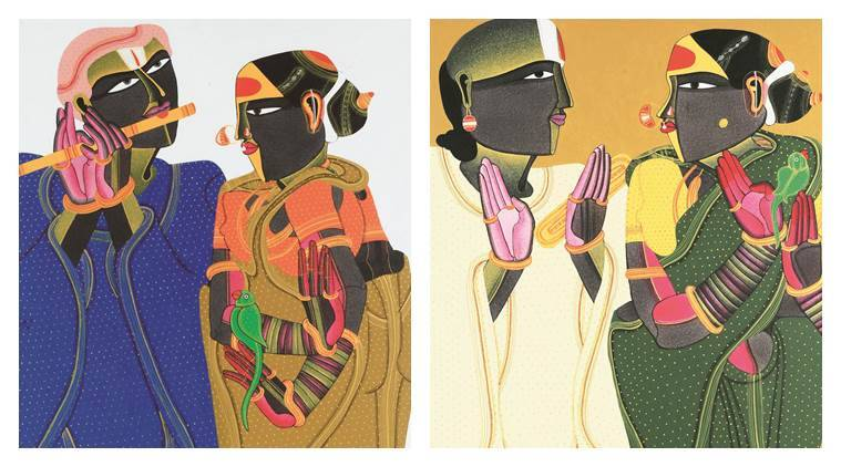 Thota Vaikuntam, MANVINDER DAVAR, India Fine Art gallery, India Art scene, India Paintings, Great India Painters, India art and painting, Modern India art, latest news, India news,