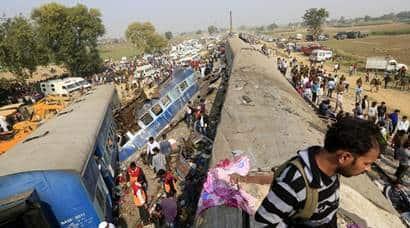 Indore Patna Express derails: Over 120 killed, 200injured