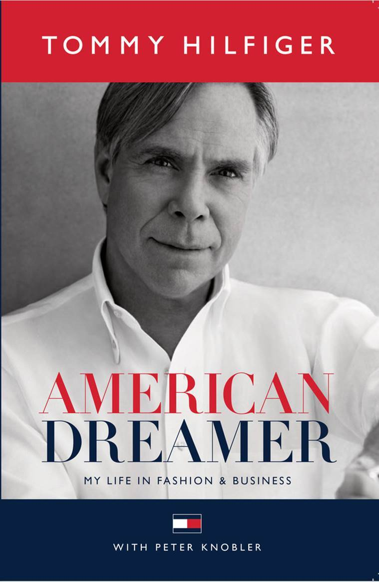 The cover of Tommy Hilfiger's new book.