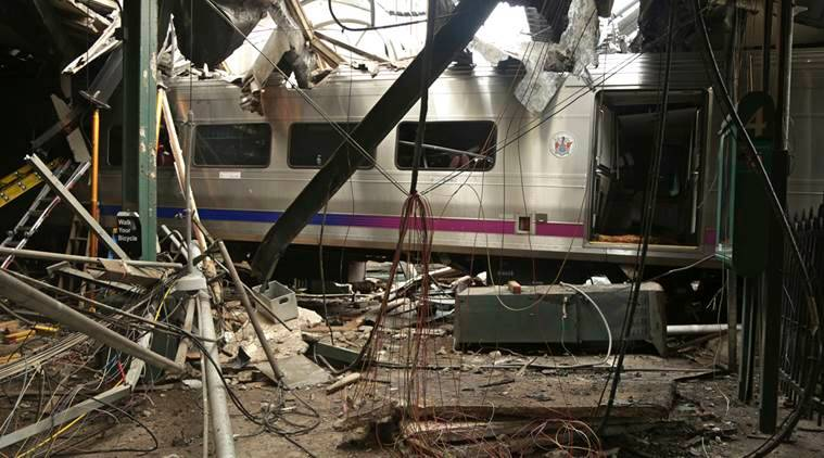 New Jersey train crash, train hits station, sleep apnea, sleep apnea train crash, Federal Railroad Administration, FRA, New Jersey news, US news, world news, latest news, indian express