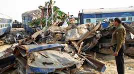 Seven coaches of Shaktipunj Express derail in UP