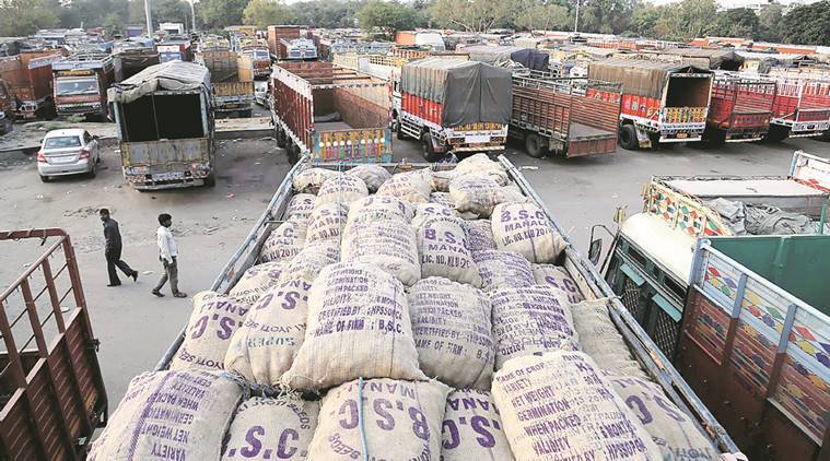 As transporters go on strike, state draws up contingency