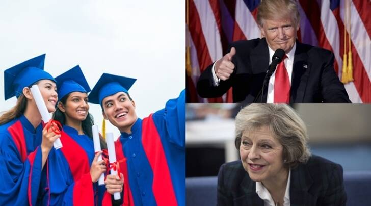 trump, trump win, us elections, indian students, theresa may, uk, us president, study abroad, US visa, UK visa, education loan, education news, indian express