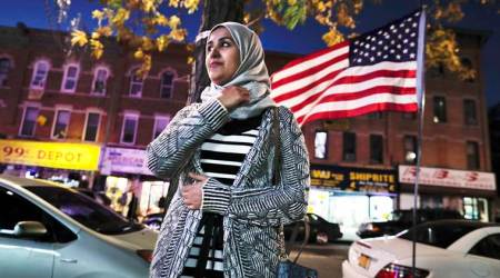United States Muslims see friendly neighbors, but a foe in White House, says Pew Research Center report