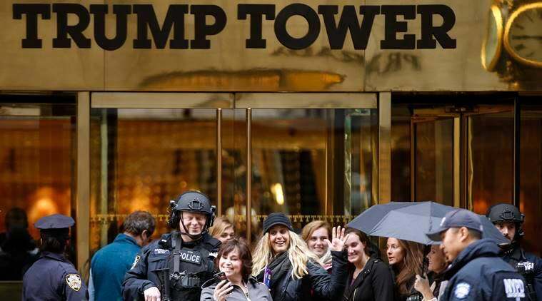 Donald Trump, Trump, Trump election victory, Trump New York residence, White House, Trump White House, President-elect Trump, US news, world news, latest news, indian express