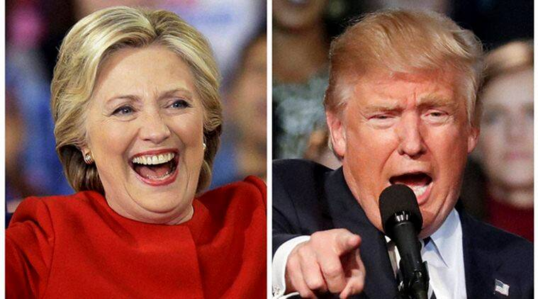 Democrat Hillary Clinton and Republican Donald Trump (Source: AP/PTI)
