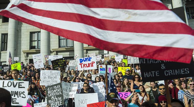 Donald Trump, Anti Trump protests, Trump protests, US protests, Trump news, Donald Trump news, US news, US Trump protests, US news