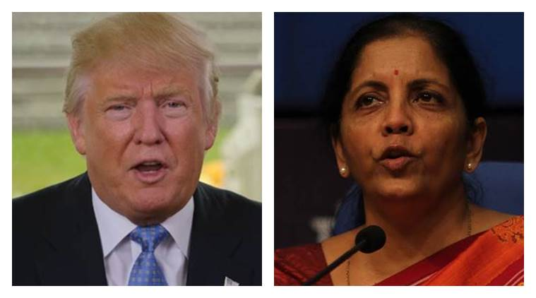 Commerce Minister Nirmala Sitharaman, Donald Trump, India's Economic ooperation with US, latest news, India news, world news, India and US, US and India news, Latest news, India and US relations, India relation with Doanld Trump, Donald Trump for India, India and Donald Trump news, latest news
