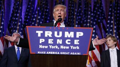 US election results: Donald Trump on a high after win
