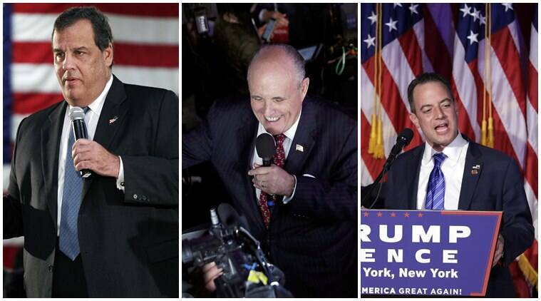 trump, donald trump, trump news, trump cabinet, trump cabinet news, chris christie, Rudy Giuliani, Reince Priebus, newt gingrich