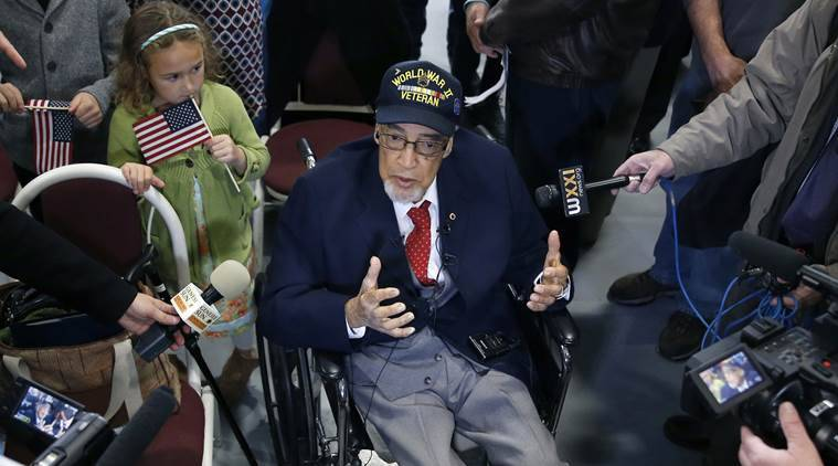 Tuskegee Airmen, world war II, second world war veterans, Congressional Gold Medal, US news, world news, latest news, indian express