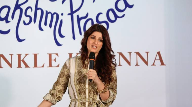 Mumbai: Actress Twinkle Khanna during the launch of book, The Legend of Lakshmi Prasad, a collection of four short stories by author Twinkle Khanna, in Mumbai, on Nov 15, 2016. (Photo: IANS)