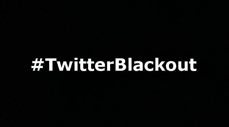 People are changing their display pictures to black in protest