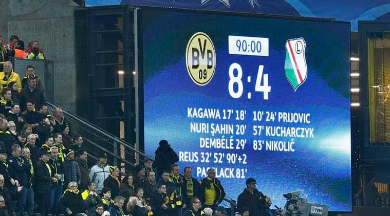 UEFA Champions League, Champions League, Borussia Dortmund, Dortmund, Legia Warsaw, Dortmund vs Warsaw, Real Madrid, Juventus, football news, sports news