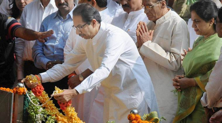 uddhav thackeray, shiv sena chief, bal thackeray memorial, uddhav bal thackeray, bal thackeray memorial, shiv sena uddhav, india news