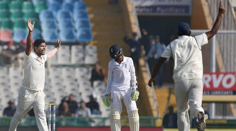 India pile pressure on England after Ashwin's triple strike