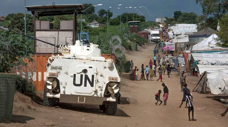 Indian peacekeepers, Indian peacekeepers make bridge in south sudan, south sudan, UNMISS, akoka village, east-central africa, indian express, UN mission