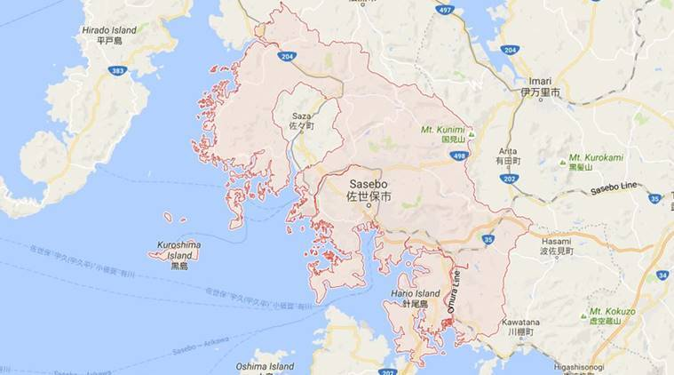 Navy Bases In Japan Map.Us Naval Base In Western Japan On Lockdown After Reported Gunshots
