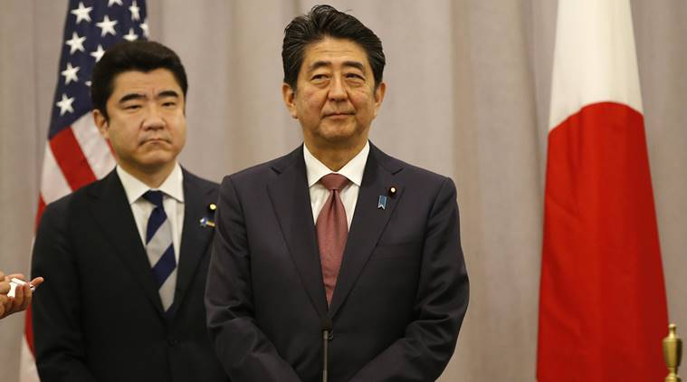 Shinzo Abe, Donald Trump, Donald Trump Shinzo Abe, Japan US, Shinzo Abe US, Shinzo Abe New York, news, latest news, world news, international news