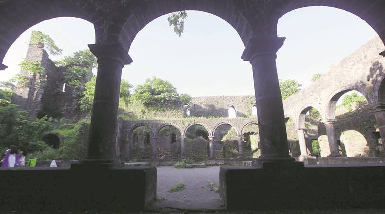 Vasai fort, Fort, Vasai fort mumbai,  Bassein Fort,  Bassein Fort mumbai, Chimaji Appa statue, Vasai Virar municipal corporation, Marathas, Vasai fort, Forts in India, Mumbai news, indian express news