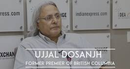 Idea Exchange With Ujjal Dosanjh