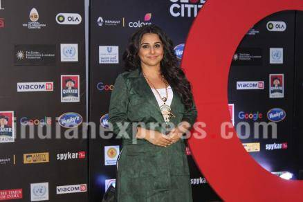 Vidya Balan, Global Citizen Festival India,