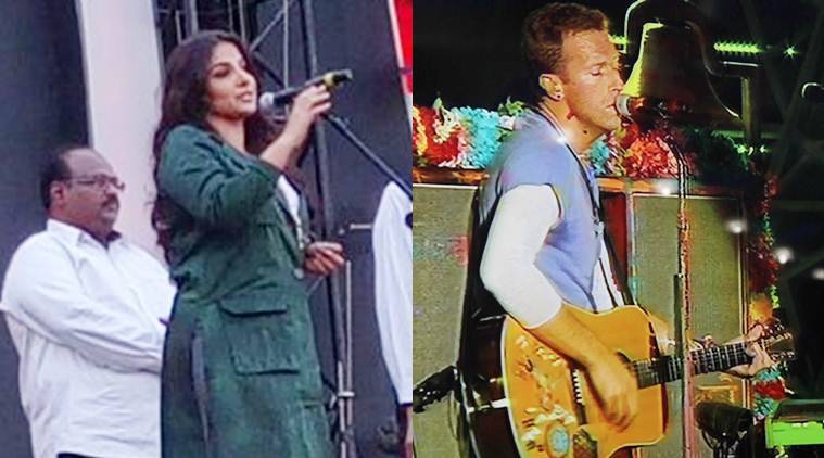 Vidya Balan, Coldplay, Coldplay's music, Coldplay concert, Coldplay concert details