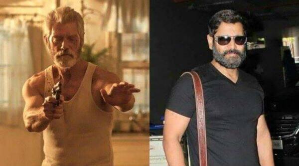 Vikram's new look for his upcoming film, which is the Tamil remake of Hollywood film, Don't Breathe.